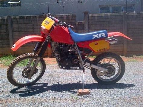 honda xr 500 re brick7 motorcycle