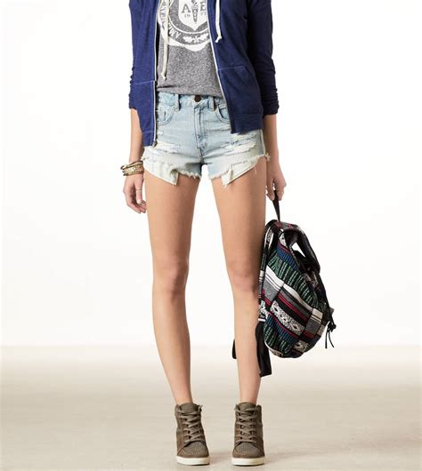 AE HI-RISE FESTIVAL SHORTIE | AMERICAN EAGLE OUTFITTERS on ...