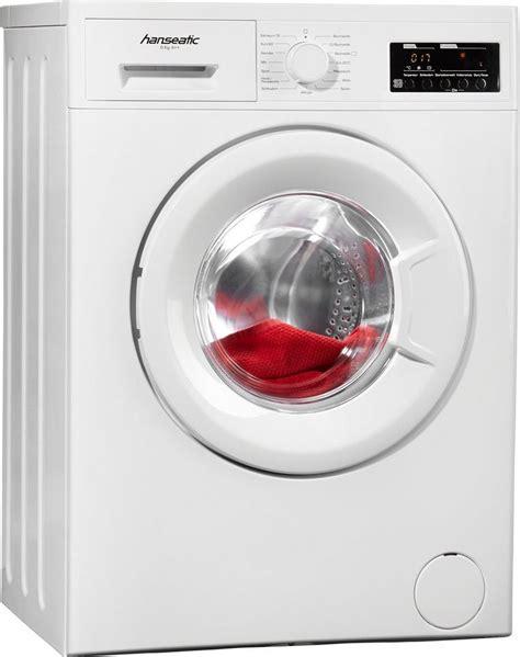 exquisit waschmaschine 6 kg hanseatic waschmaschine hwm614a2 a 6 kg 1400 u min kaufen otto