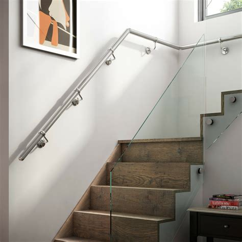 Chrome Banisters by 3 6mtr Chrome Metal Handrail Banister All Fittings