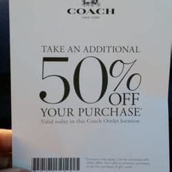 ls plus coupons 50 off coach outlet 23 photos 74 reviews outlet stores