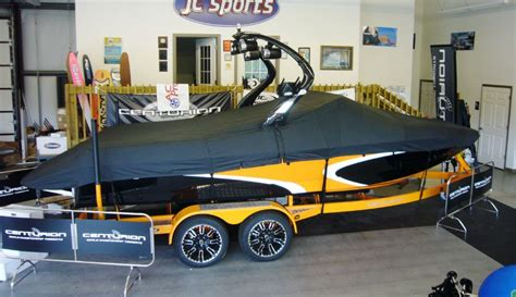 Shoretex Boat Cover by Custom Boat Cover For Ski Centurion With A Tower Custom