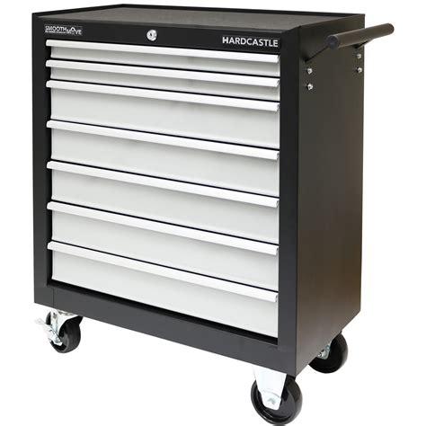 7 drawer rolling tool cabinet black metal 7 drawer lockable tool chest box storage