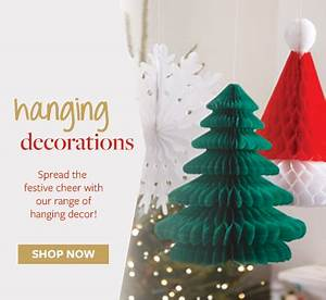 Christmas Party Supplies Ideas Accessories Decorations