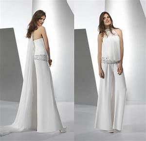 white wedding jumpsuits google search fashion With jumpsuit wedding dress