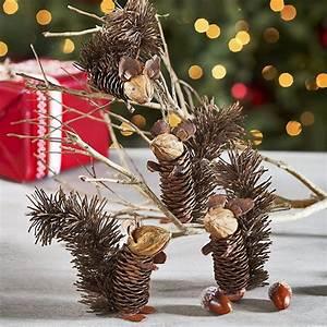 Basteln Kindern Weihnachten Tannenzapfen : zapfen eichh rnchen pinteres ~ Whattoseeinmadrid.com Haus und Dekorationen