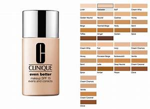 Clinique Superbalanced Foundation Color Chart Clinique Superbalanced Makeup Color Chart Mugeek Vidalondon