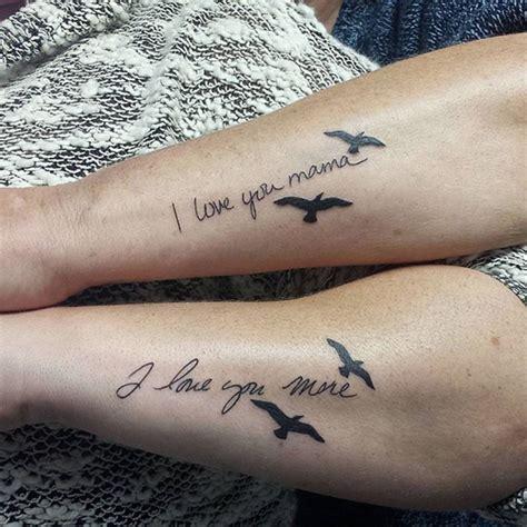 tatuajes disenados  padres  hijos elegantes