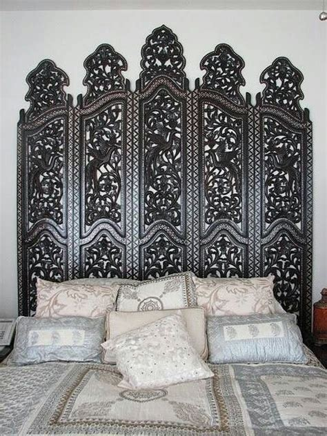 room divider as headboard interior design in 2019 wood room divider bali decor living room