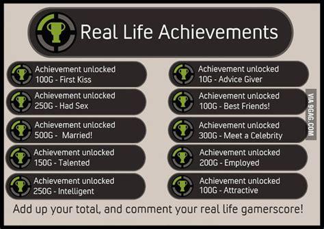 Achievement Unlocked Meme - real life achievements 9gag