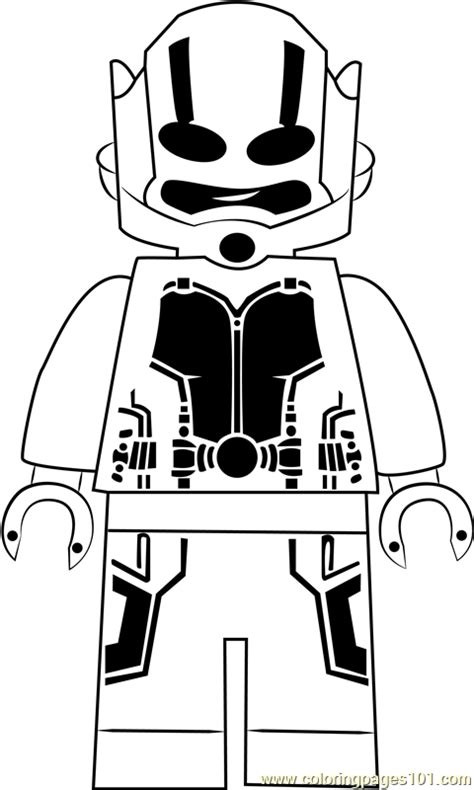lego ant man  coloring page  lego coloring pages coloringpagescom