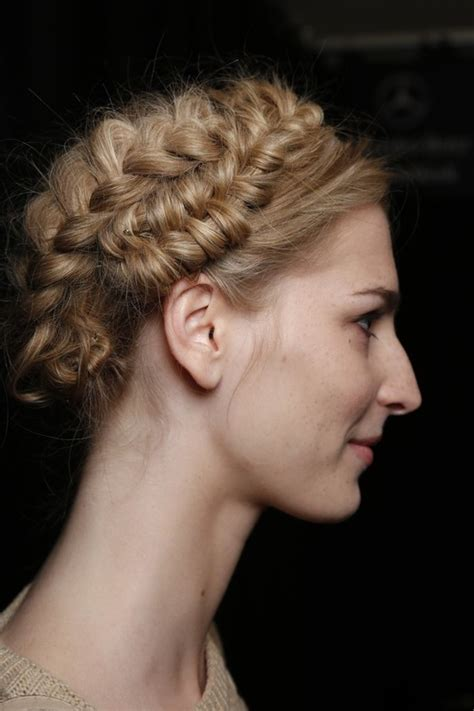 pictures spring 2014 hairstyle trends from fashion week