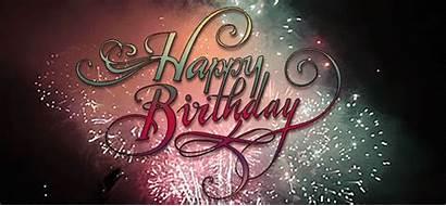 Birthday Happy Wishes Gifs Firework Fireworks Animated