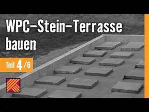 Version 2013 wpc stein terrasse bauen kapitel 4 for Terrasse bauen stein
