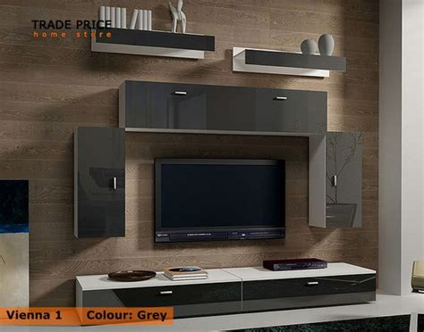 details about tv wall units tv cabinets tv stand grey high gloss modern furniture ikea tv