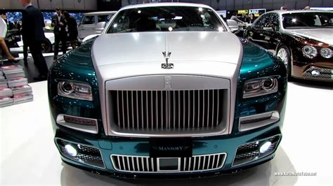 roll royce 2016 2014 rolls royce wraith by mansory exterior and interior