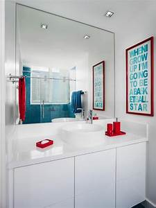 Jazz, Up, Your, Decor, With, Pops, Of, Turquoise, Red