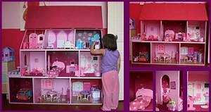 Maison De Poupe Taille Barbie Tuto LuluLaberlue