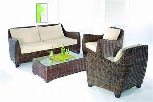 Canapé En Rotin : canap rotin sumatra weng mobilier ~ Teatrodelosmanantiales.com Idées de Décoration