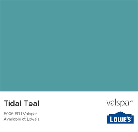 tidal teal from valspar color for accent wall