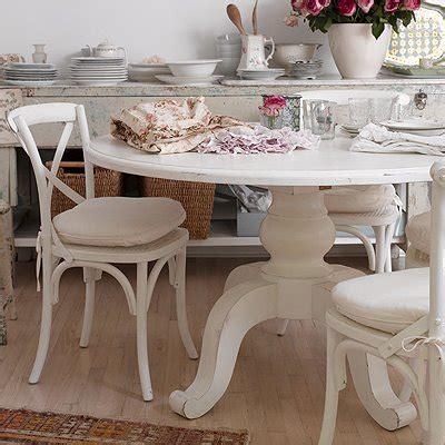 Shabby Chic Kitchen Table  Kitchen Ideas