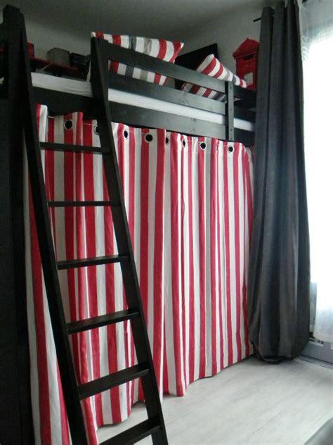rideau pour chambre de fille cool chambre duado rnove mille et une ides rideau chambre