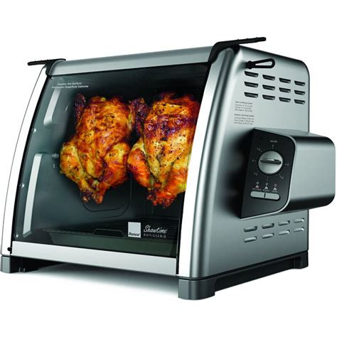Small Countertop Ovens by Ronco Stainless Steel Compact Rotisserie Oven Countertop