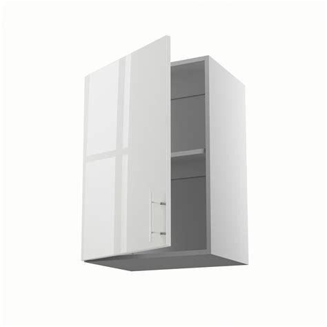 meuble cuisine largeur 50 cm meuble de cuisine haut blanc 1 porte h 70 x l 50 x p