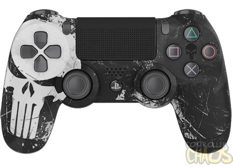 punisher playstation  custom controllers controller