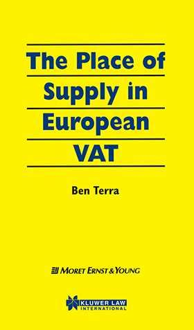 The Place Of Supply In European Vat  Wolters Kluwer Legal & Regulatory