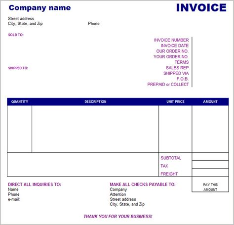 Template Basicp by 38 Free Basic Invoice Templates Free Premium Templates