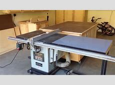 Out feed table for my table saw YouTube