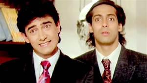 Paresh Rawal, Aamir Khan, Salman Khan - Andaz Apna Apna ...