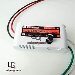 12v 2a Dc Motor Speed Switch Controller Reversible For