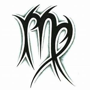 59ce75d85f147 Tribal Zodiac scorpio and Aries Tattoos | Virgo Tattoos .