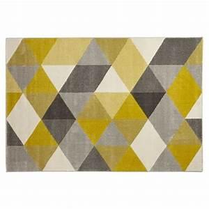 tapis design 39grafik39 160 230 cm avec motifs graphiques With tapis design avec canapé 160 cm