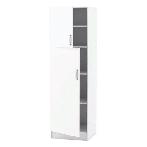 portes meubles de cuisine meuble de cuisine blanc colonne 2 portes dya