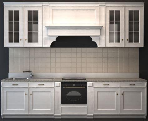 Classic Wood Kitchen Cabinet 3d Model 3dsmax,3ds,wavefront
