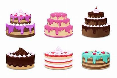 Cake Vector Cakes Background Illustration Birthday Clip