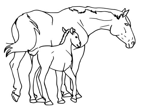 clipart mare mare and foal animals h horses horse 5 horse mare