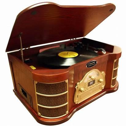 Player Radio Turntable Cassette Turntables Usb Ipod