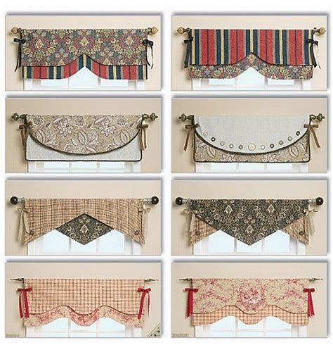 Curtain Valance Styles by Window Valance Curtains Patterns And Styles Hermosas