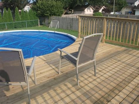 Pictures Of Decks Around Above Ground Pool by Above Ground Pool Deck Decks And Fences By