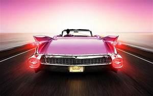Cadillac Eldorado Elvis Aaron Presley Pink Rear Cadillac