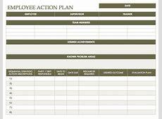 Free Action Plan Templates Smartsheet