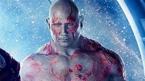 Dave Bautista talks Drax's Guardians Vol. 2 makeup