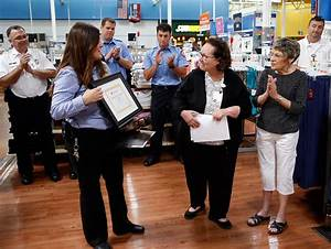 Walmart employees, customer honored for efforts during ...