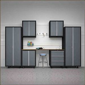 lowes garage cabinets home design inspirations With best brand of paint for kitchen cabinets with garage sale stickers