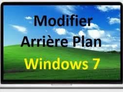 modifier arri 232 re plan du bureau de windows 7