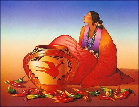 R C Gorman (from Navajo) On